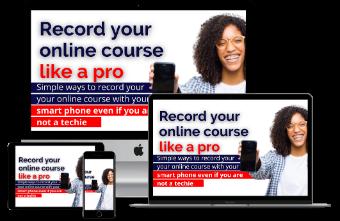 ikwuagwu igwe, record your online course