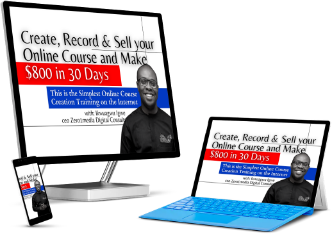 ikwuagwuigwe, create, record and sell your online course,